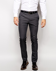 United Colors Of Benetton Slim Fit Suit Trousers Navy