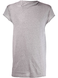 Y Project Asymmetrical T Shirt Grey