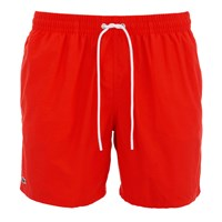 Lacoste Men's Classic Swim Shorts Etna Red