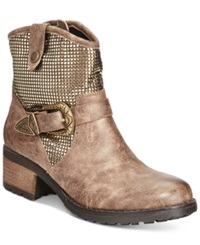 Dolce By Mojo Moxy Bratty Western Booties Women's Shoes