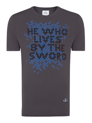 Vivienne Westwood He Who Lives T Shirt Grey