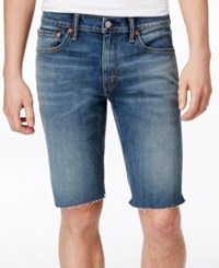 Levi's 511 Men's Slim Cutoff Shorts Med Blue 1