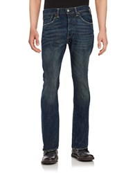 Levi's 501 Tapered Leg Jeans Dark Blue