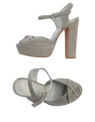 Maria Cristina Sandals Light Grey