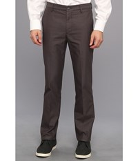 Dockers Signature Khaki D1 Slim Fit Flat Front Smith Steelhead Men's Dress Pants Black