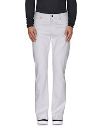 Byblos Denim Denim Trousers Men White
