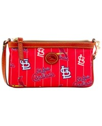 Dooney And Bourke St. Louis Cardinals Nylon Wristlet Red