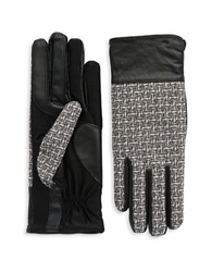 Grandoe Tweed Sensor Touch Gloves Black