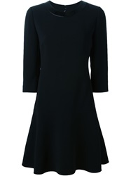 Ralph Lauren Black Label Ralph Lauren Black Three Quarter Sleeve Dress
