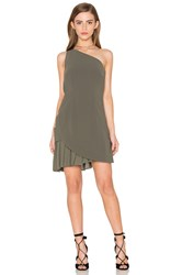 Finders Keepers The Divide Dress Olive