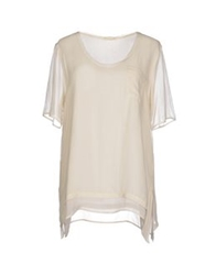Gold Hawk Blouses Ivory