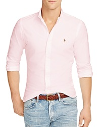 Polo Ralph Lauren Slim Fit Stretch Oxford Shirt Pink