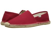 Soludos Original Dali Red Men's Flat Shoes