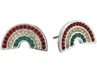 Marc Jacobs Charms Paradise Rainbow Studs Earrings Red Multi Earring