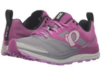 Pearl Izumi Em Trail N 2 V3 Purple Wine Smoked Women's Running Shoes Gray