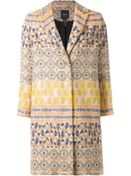 Smythe Tribal Print Coat