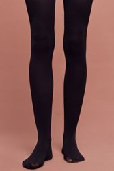Anthropologie Opaque Tights Black
