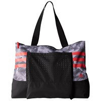 Adidas Graphic Tote Bag White Shock Red