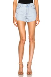 Paige Denim Margot Shorts In Blue