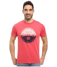 Cinch Soft Hand Jersey Tee Short Sleeve Red Men's Clothing