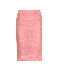 Burberry Lace Skirt Pink