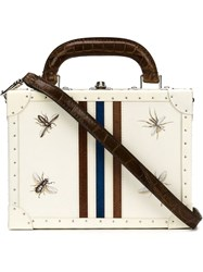 Bertoni 1949 'Bertoncina' Shoulder Bag White