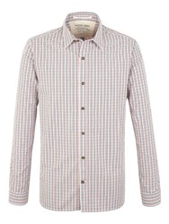 Racing Green George Multi Check Shirt Blue