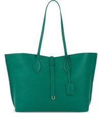 Whistles Regent Leather Tote Green