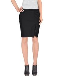 Twin Set Simona Barbieri Knee Length Skirts Black