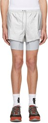 Satisfy Silver Long Distance Shorts