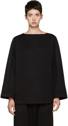 Nocturne 22 Black Boatneck Sweater