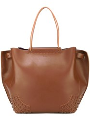 Tod's Shopper Tote Nude And Neutrals