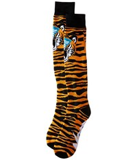 Neff Tiger Snow Socks Orange Men's Thigh High Socks Shoes