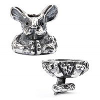 Trollbeads Fantasy Mouse Pendant