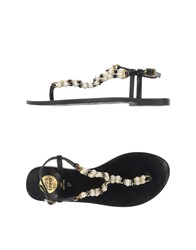 Gioseppo Footwear Thong Sandals Women Black