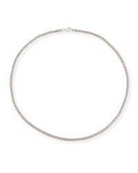 Konstantino Sterling Silver Twist Chain 18