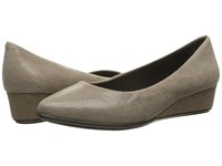 Easy Spirit Avery Taupe Reptile Women's Shoes