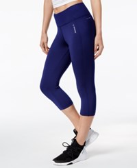 Reebok Speedwick Capri Leggings Navy