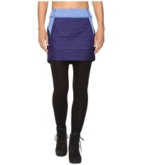 Mountain Hardwear Trekkin Insulated Mini Skirt Indigo Blue Women's Skirt