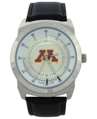 Game Time Minnesota Golden Gophers Vintage Watch Black Silver
