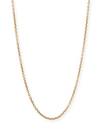 Sabbia Rose Gold Cable Chain Necklace 18'L Pomellato
