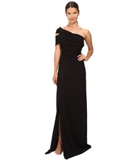 Dsquared Stretch Viscose Blair Gown Black Women's Dress