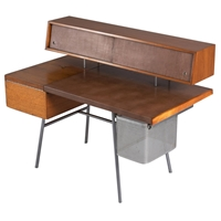 Early George Nelson For Herman Miller Home Desk 1946 At 1Stdibs