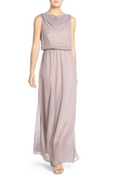 Women's Paper Crown By Lauren Conrad 'Springfield' Cowl Neck Chiffon Gown