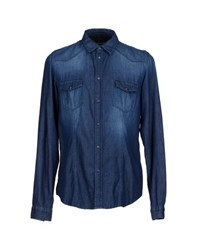 Officina 36 Denim Denim Shirts Men