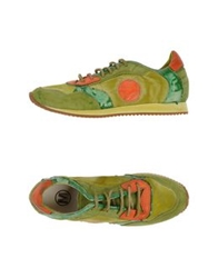Manas Design Manas Low Tops And Trainers Acid Green
