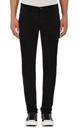 Barneys New York Men's Twill Chinos Black