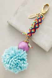 Anthropologie Pommed Friendship Keychain Mint