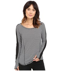 Hurley Dri Fit Mesh Long Sleeve Top White S Women's Long Sleeve Pullover Gray