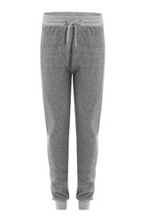 Burberry Brit Sweatpants With Satin Detail Grey